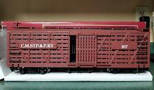 Bachmann Big Haulers G Scale Train Car C.M.Stp. & P.Ry 167 Cattle Box Car