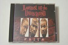 LORDS OF THE UNDERGROUND - FAITH / NEVA FADED US-CD 1995 (Marley Marl) RARE