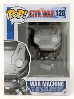 Funko Pop! Marvel Civil War Captain America War Machine Vinyl Figure C-Grade Box