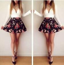 Handmade Short Sleeve Floral Dresses for Women