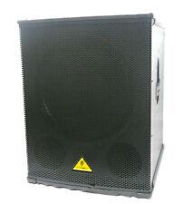 "BEHRINGER B1800X PRO 18"" SUBWOOFER PA SPEAKER CABINET 1600 WATTS"