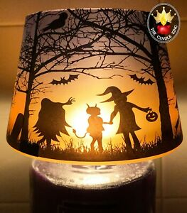 Yankee Candle - Trick or Treat Halloween Candle Shade Topper