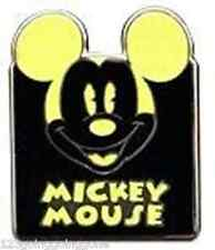MICKEY MOUSE EXPRESSION HAPPY Light Yellow Mystery Pouch Disney Pin 90973