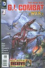US comic pack G i Combat 1-7 + 0 Palmiotti Gray NEW 52 DC