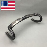 Road Bike Handlebar Full Carbon Fiber Cycling Bicycle Racing UD Bend Handlebar