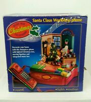 Santa Claus Workshop Musical Animated Christmas Phone