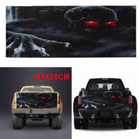 Car Truck Pickup Rear Window Tailgate Horror Halloween Skull Vinyl Decal Sticker