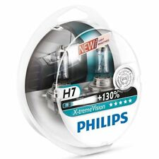 Philips H7 Xtreme Vision Headlight Bulbs PX26d 130% 12972XV+S2 Twin Pack