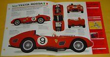 1959 Ferrari Testa Rossa 250TR Race Car 2953cc V12 300hp 6 Carbs Info/Spec/photo