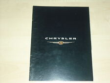 44182) Chrysler Stratus + Cabrio PT Cruiser Voyager Prospekt 200?