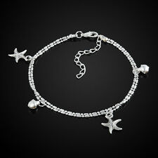 Fashion Starfish Anklet Ankle Bracelet Chain Barefoot Sandal Beach Foot Jewelry