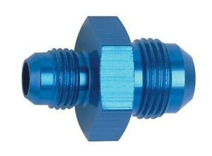 #6 X #8 AN MALE REDUCER Fitting Fragola 491912  Blue Aluminum