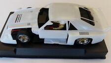 SIDEWAYS SWK/FM FORD MUSTANG WHITE KIT GROUP 5 CAR NEW 1/32 SLOT CAR