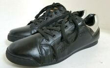 Auth LOUIS VUITTON (LI1008) WOMENS SNEAKERS  BLACK -US 9 - MADE IN ITALY