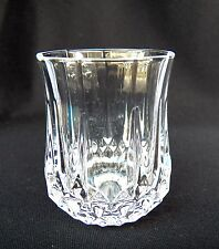 CRISTAL D'ARQUES LONGCHAMP CRYSTAL DOUBLE OLD FASHIONED ROCKS GLASS 12 OZ