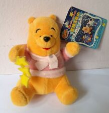 Disney Winnie Pooh Bear Star Wing Mini Plush Stuffed Soft Toy Christmas SEGA