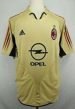 RARE Vintage Adidas 2004-2005 Third Kit  AC Milan Soccer Jersey Size Adult Large