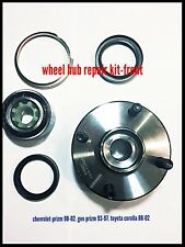 Front Wheel Hub & Bearing Fits Toyota Corolla Chevy/Geo Prizm. Non-ABS.518507