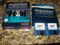"Global Conquest (IBM, 1992) CIB Near Mint 3.5"" floppy disks"