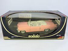 SOLIDO PESTIGE 1955 Pink Cadillac Eldorado 1:18 die cast metal Elvis Presley car