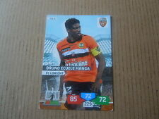 Carte adrenalyn panini - Foot 2013/14 - Lorient - N°05 - Bruno Ecuele Manga