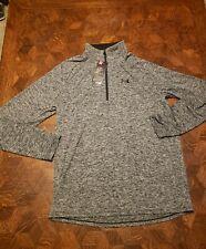 Mens-Under Armour Long Sleeve 1/4 Zip Heat Gear Shirt