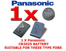 1 X PANASONIC REMOTE KEY CARD FOB BATTERY FOR RENAULT SCENIC MEGANE CR2025