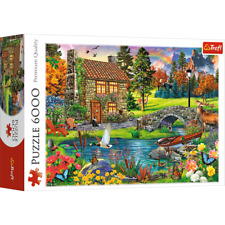 Trefl 6000 Piece Jigsaw Puzzle Hut in the mountains