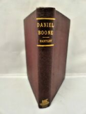 daniel boone western hunter early pioneer antique hardcover by hartley 1800's