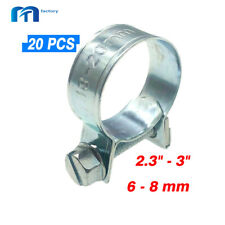 20 Pcs 6-8mm Fuel Injection Hose Clamp / Auto Fuel clamps -