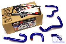 HPS Reinforced Silicone Heater Hose Kit For 00-05 S2000 AP1 LHD *Non Wire* Blue