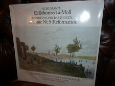 Schumann Cello, Mendelssohn Sym 5 Neuman, MELKUS Sealed