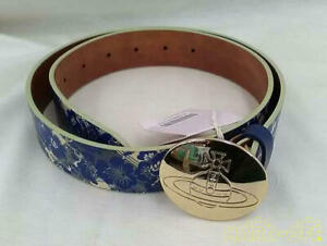 VIVIENNE WESTWOOD Belt Floral Blue Color Accessory for Woman from Japan Used