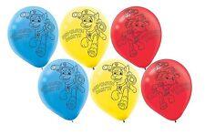 Paw Patrol Latex Balloons (x6)