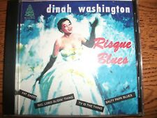Dinah Washington-Risque Blues-Evergreen Records-RARE!