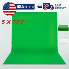 Backdrop Photography Green Screen Studio Photo Video Set Kit Background 5*7Ft