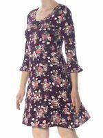 Ultra Flirt Womens Floral Dress Size M