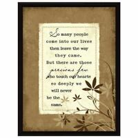 NEW Dexsa So Many People Wood Frame Plaque with Easel DX8503