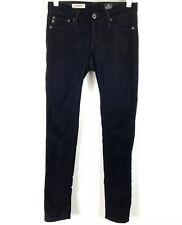 AG Adriano Goldschmied Womens The Legging Corduroy Jeans Super Skinny Black 24