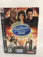 Karaoke Rev American Idol Encore 2 Bundle PS3 Playstation 3 Brand NEW