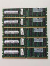10GB (5x 2GB) Genuine HP ECC Memory   405476-051   PC2-5300P   Samsung