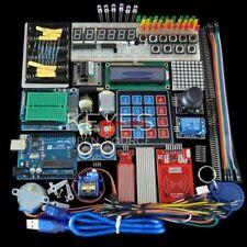 Starter Kit Breadboard Holder Step Motor Servo Lcd Jumper Wire Uno For Arduino