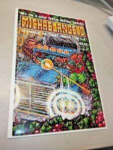 Michaelangelo Teenage Mutant Ninja Turtles TMNT #1 Micro Series Mirage NM+++