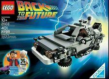 Lego 21103 Back To The Future Delorean **FREE EXPRESS POST** BNIB AUSELLER