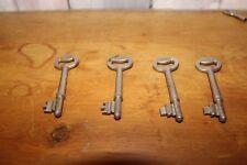 4x Union mortice keys
