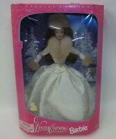 Vintage 1998 Winter Evening Barbie Doll NRFB
