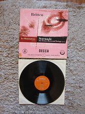 Britten Les Illuminations / Serenade Eugene Goosenns Decca LXT 2941 Vinyl Record