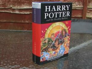 RARE HARRY POTTER & THE DEATHLY HALLOWS 1ST FIRST EDITION HARDBACK BOOK