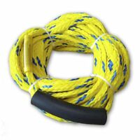 Inflatable Towable Ski Tow Rope, For Four Rider or 680 Pounds, Length 60 Feet