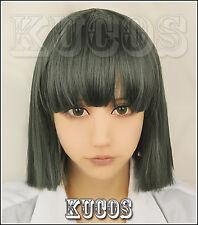 Spirited Away Haku Nigihayami Kohakunushi Green Mixed Cosplay Wig N009